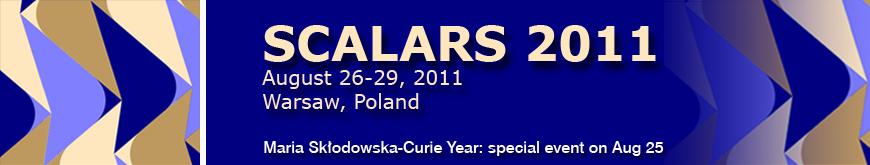Scalars 2011