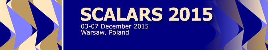 Scalars 2015